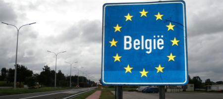 bolide uit België de grens overkrijgen